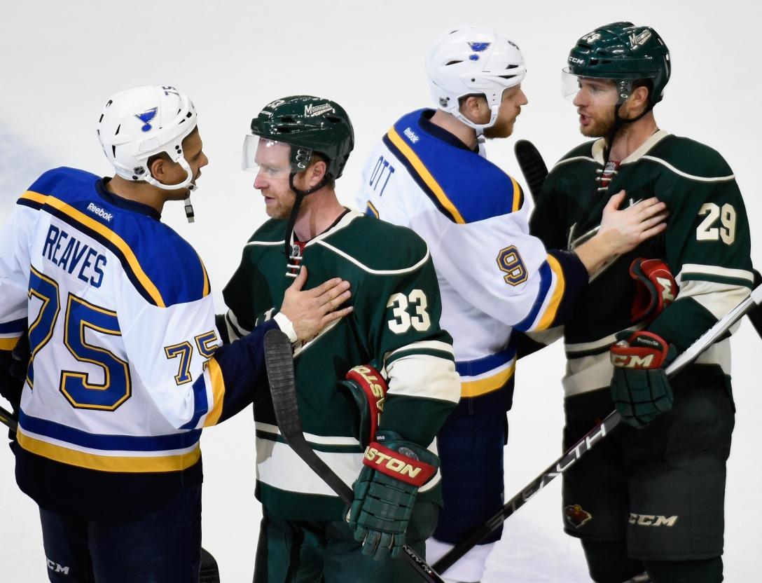 St Louis Blues v Minnesota Wild - Game Six